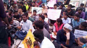 Syed in Tidel protest